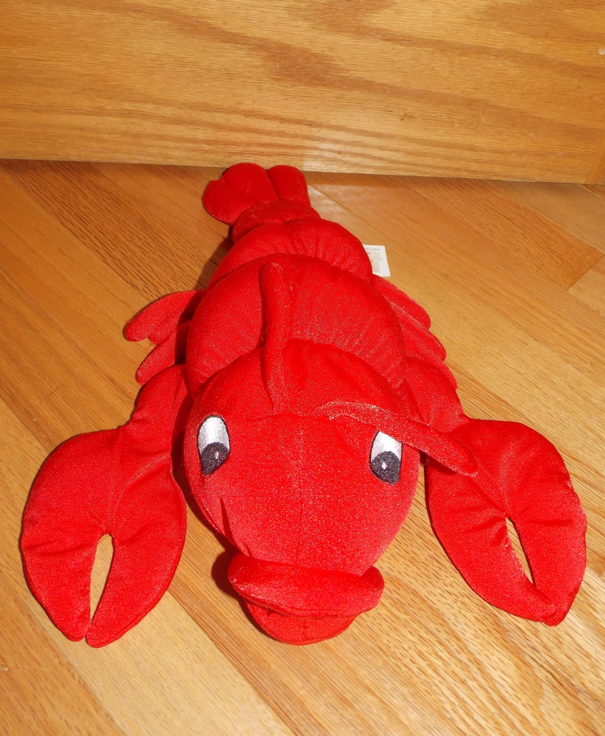 Dandee Moshi Microbead Plush Red Lobster Stitched Eyes Pillow Toy