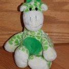 Burton + Burton Plush Green Cream Yellow Plush Giraffe 2006