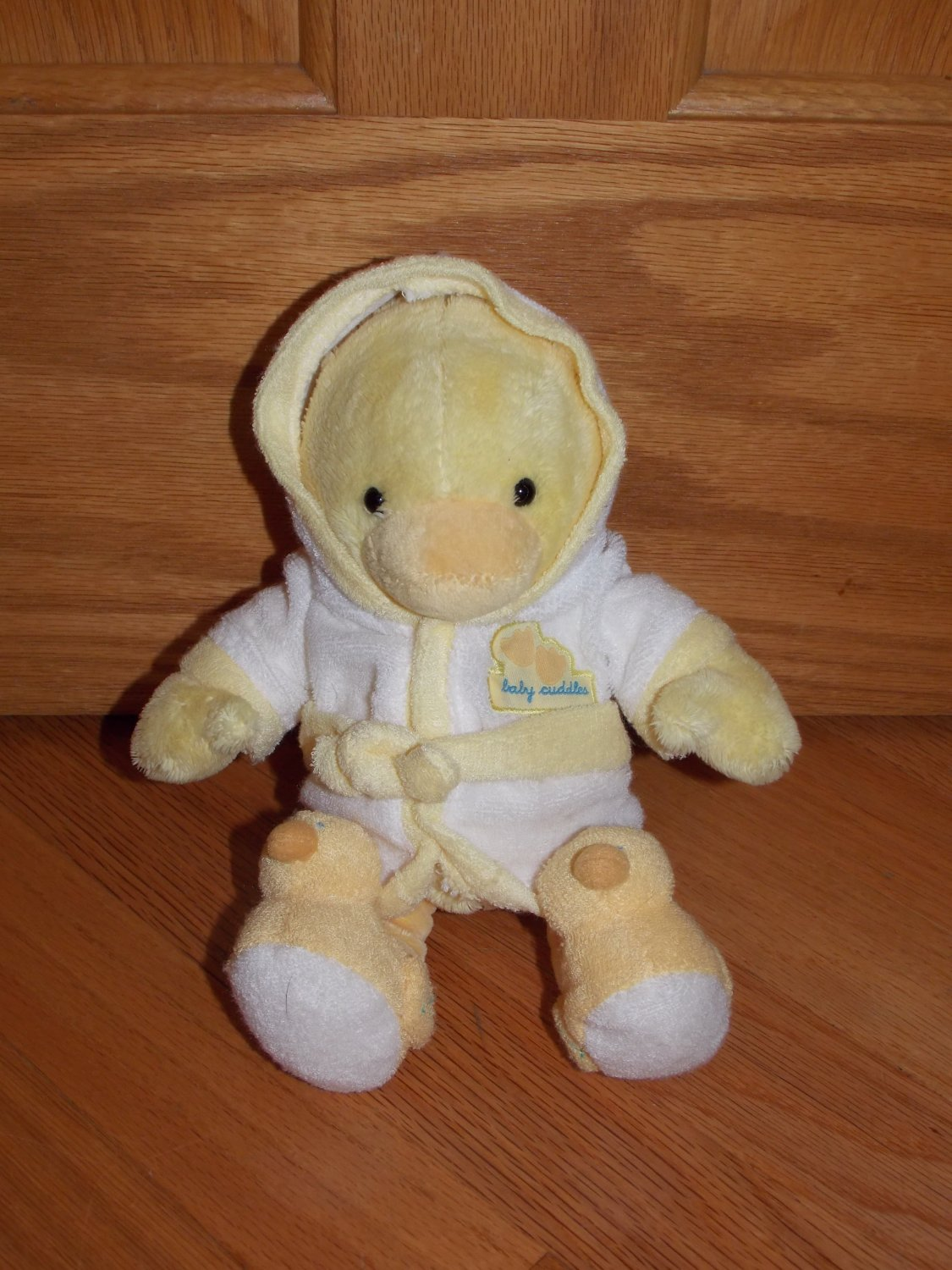 Carter S Just One Year Baby Cuddles Yellow Plush Duck In