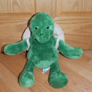 Build a Bear Plush Turtle with Backpack Shell Tortoise Doll