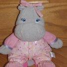 Garanimals Gray Plush Musical Hippo Pink Polka Dot Outfit 82236
