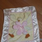 Bunnies by the Bay Emme Lulla Bye Duck Security Blanket Lovey Pink Flower