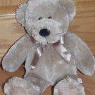 Koala Baby 18 Inch Brown Beige Baby's First Teddy Bear Black Nose 3415018