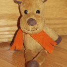 "Target Galerie Reeses Peanut Butter Chocolate Plush Reindeer Sings Raps 11""  Toy"