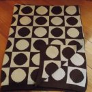 Dwell Studio for Target Brown Cream Knit Dot Square Baby Blanket