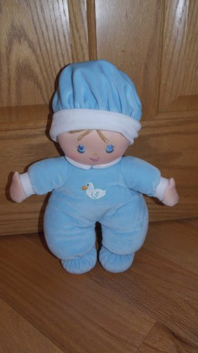 Wellmade Toys Blue Hug N Snuggle Doll Duck Pajamas Hat