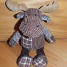 Mary Meyer Brown Plaid Stripe Moose Checker Ears Camo Scarf Bandana