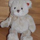 Gund Plush Tan Beige 10 Inch Teddy Bear Named Elston 15372