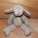 Russ Berrie Brown Beige Plush Puppy Dog Lamb Sheep Bunny Rabbit Plush Toy 1040
