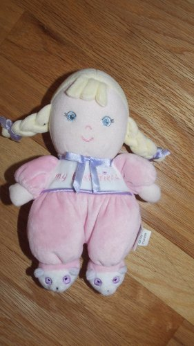 Garanimals Pink My Best Friend Baby Girl Doll Blond Hair Panda Slippers 82595