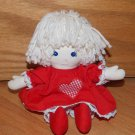 Pauline Bjonness Jacobsen Ragdoll Yarn Hair Red Heart Dress
