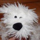 Koala Baby White Plush Shaggy Puppy Dog Black Nose 3415037K5