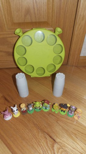 Dreamworks Shrek 3D Memory Match Up Game & Green Case Autism Therapy Complete