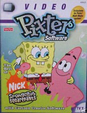 Fisher Price Video Pixter Software Best of Spongebob Squarepants Cartridge Software