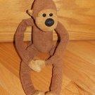 Bath & Body Works Brown Plush Monkey Named Chi Chi Velcro