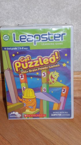 LeapFrog Leapster 2 Learning Game Cartridge Scholastic Get Puzzled