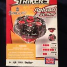 Mega Bloks Battle Strikers Turbo Tops Reload Striker Series 1 Skullor Magnext