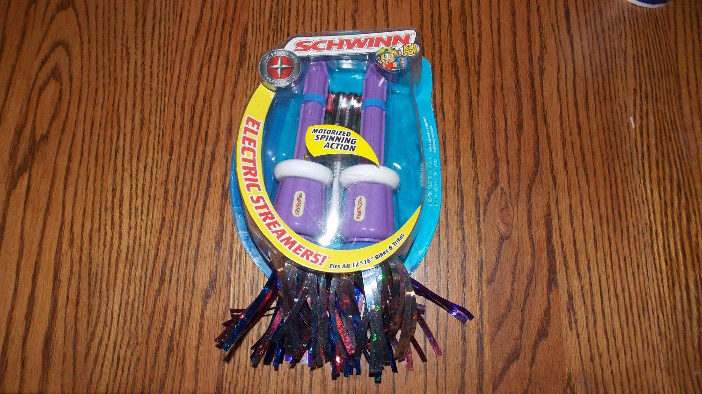 "Schwinn Kids Stuff Electric Motorized Spinning Streamers Fits 12"" -16"" Bikes & Trikes Sk502"