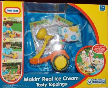 Little Tikes Makin' Real Ice Cream Tasty Toppings Kitchen Fun