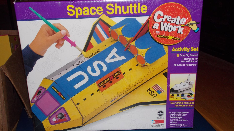 Creative Works Create a Work Space Shuttle Activity Set 30503