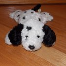 Target Corporation Plush Beanie Black & White Spotted Dalmatian Puppy Dog Beans 75478T