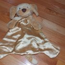Baby Gund Tan Beige HuggyBuddy Spunky Puppy Dog Security Blanket Lovey 58968 FLAW
