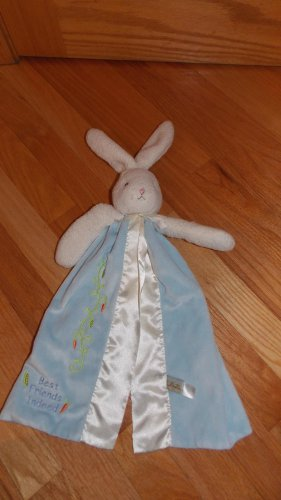 Bunnies By The Bay Blue Bunny Rabbit Best Friends Indeed Security Blanket Lovey