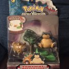 Pokemon Battle Dimension Vertical Battle Link Bidoof and Snorlax Series 3