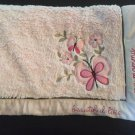 Koala Baby Pink Butterflys Flowers Beautiful Like My Mommy Baby Blanket Item 3748630K13