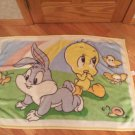 Baby Looney Tunes Bugs Bunny Tweety Bird Rainbow Blanket Plush Luxe Rainbow Snail Birds Butterfly