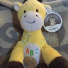 Carters Child of Mine Yellow Plush ABC Giraffe Musical Sings 83147