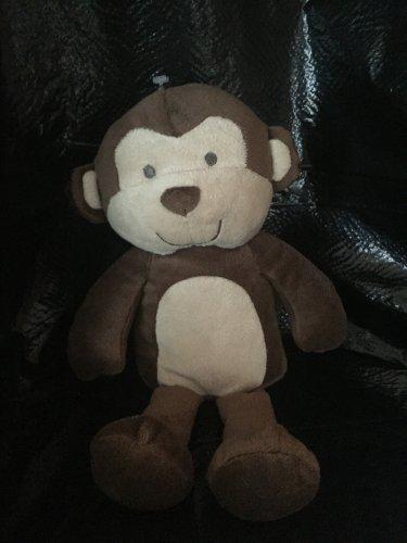 Carter's Just One You Plush Dark Brown Beige Monkey Baby Lovey 92914