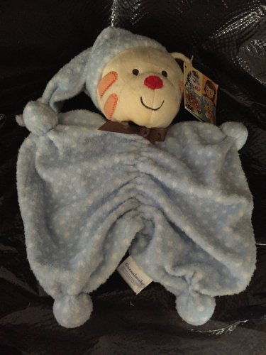 Garanimals Plush Tiger Lovey in Blue Polka Dot Pajamas 82694
