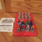 Marvel Spiderman & Friends 3D Memory Match Up Game Instructions & Case Autism Therapy RARE FIGURES