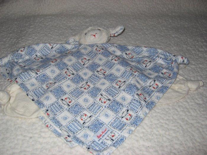 Kathe Kruse Organic Lamb Lovey Security Blanket