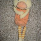 Carter's Welcome to the Family Collection Plush yellow Duck Baby Bottle Holder