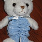 Luv N' Care white Plush Teddy Bear Lovey Musical Crib Toy