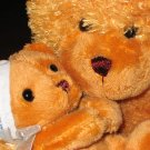 Mother Bear and Baby Bear by Goffa Plush Prays Now I lay me down to sleep