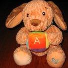 Bright Starts ABC Plush Puppy Dog PJ Lovey