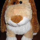 Princess Soft Toys gold, brown and white plush Puppy Dog