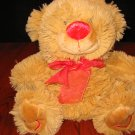 CalToy Plush Teddy Bear with Hearts on feet Cal Toy