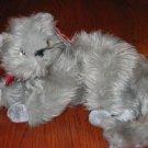 TY Beanie Babies fluffy gray kitten named Beani 2001