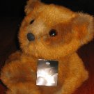 24K Polar Puff Plush Brown Baby Bear 1993 Special Effects