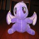 Talking Light Up Shoyru Dragon Plush Neopets Purple Toy