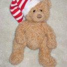 TY Beanie Babies Teddy Bear named Skis with christmas stocking cap 2006