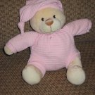Mary Meyer Baby Jammies Bear Pink Plush Toy
