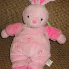 Carter's  Plush Pink Bunny Rabbit Musical Crib Toy Brahms Lullaby