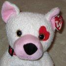 2003 Ty Beanie Buddy Buddies Cupid Valentine Love Puppy Dog