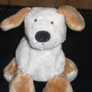 "Mary Meyer Plush Puppy Dog Tan and Cream Black nose 6"""