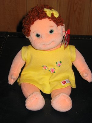 82c268c2faf Ty Beanie Kids Curly Plush Doll red Curly hair green eyes